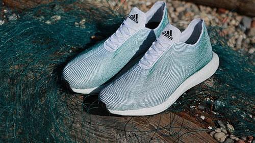 تولید کفش ورزشی از زبالههای اقیانوس