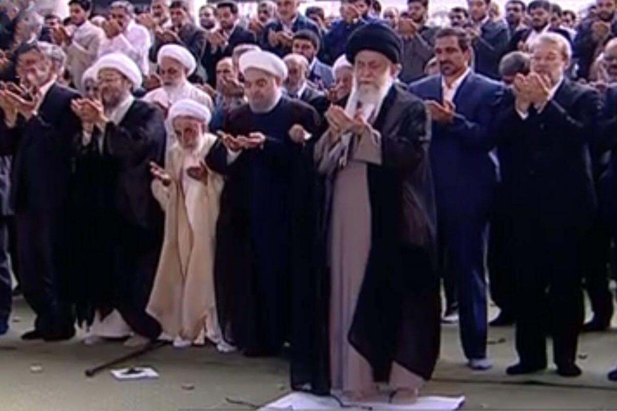 روایت حاشیهای از همنشینی جلیلی و عراقچی، تنهایی احمدینژاد و گپ و گفت سیاسیون در مراسم نماز عیدفطر