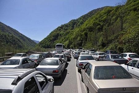 ورود بیش از 293 هزار خودرو به گیلان در تعطیلات عید فطر