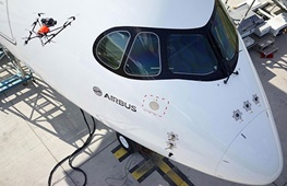 استفاده ایرباس از پهپاد برای بازرسی هواپیماهای مسافربری/انجام کار ۲ ساعته در ۱۰ دقیقه