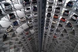 راه اندازی پارکینگ چرخ و فلکی در پایتخت