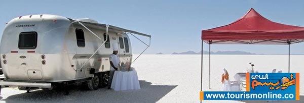 تصاویر | اقامتگاهی متفاوت در دل صحرا
