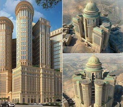 تصاویر    بزرگترین هتل جهان در مکه