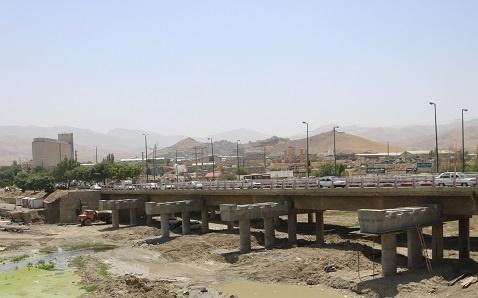 پروژه تعریض پل قشلاق سنندج 50 درصد پیشرفت فیزیکی دارد