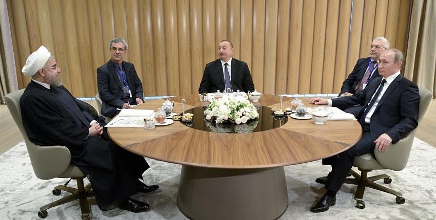 ایزوستیا: اردوغان تحت تاثیر نشست سهجانبه ایران، روسیه آذربایجان قرار گرفته است