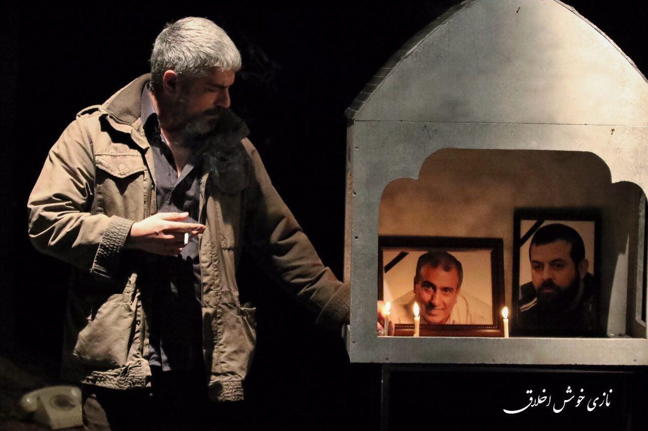 تصاویر | شهرام حقیقتدوست و مهدی پاکدل در نمایش کمدی «همسایه آقا»