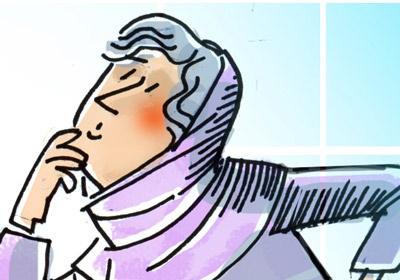 کاریکاتور   علت کمر درد زنان مشخص شد!