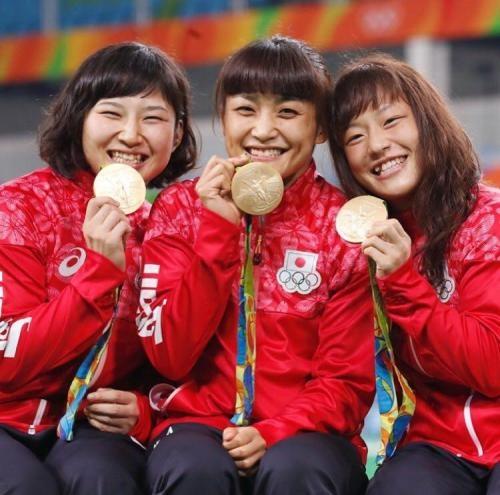کشتی زنان المپیک در تسخیر ژاپنی ها