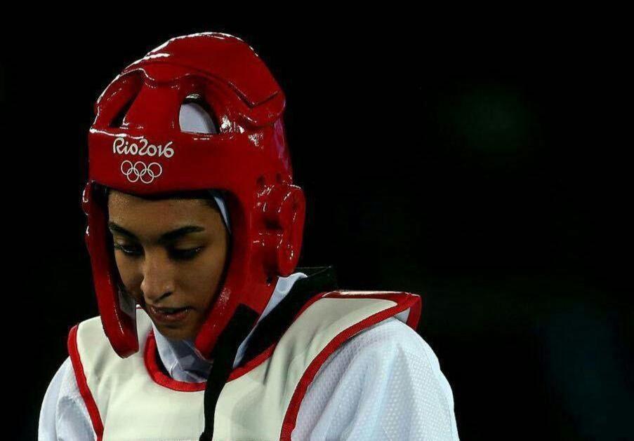 کیمیا علیزاده یک گام دیگر تا برنز المپیک