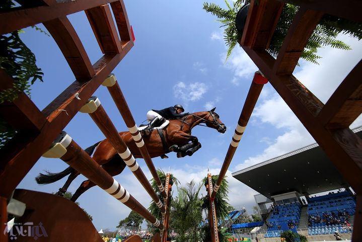 تصاویر   اسبهای زیبا و اسبسوارانی که در ریو تاختند