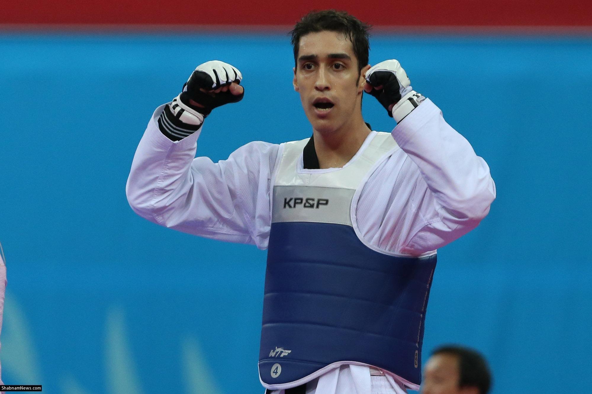 پیروزی آسان مهدی خدابخشی در مسابقه اول/ تکواندو به کسب مدال امیدوار شد