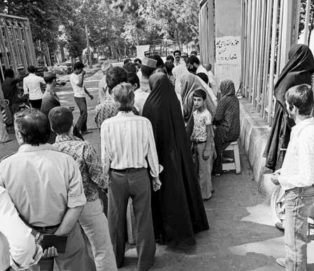 تصاویر | انتخابات مجلس خبرگان قانون اساسی
