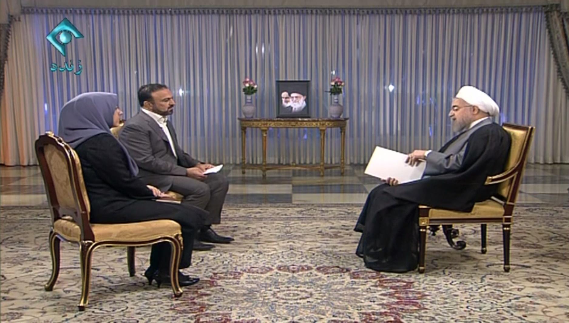 فیلم | گزیده اظهارات روحانی در گفتوگوی تلویزیونی با مردم