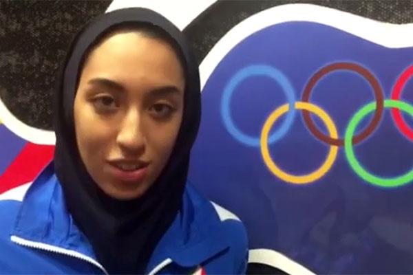 فیلم | تشکر کیمیا علیزاده از رئیسجمهور