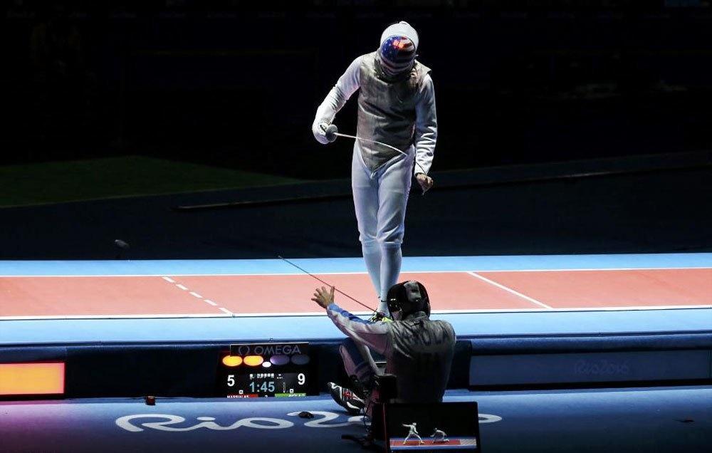 تصاویر| زمین خوردنها در المپیک