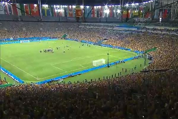 فیلم | قهرمانی برزیل با داوران ایرانی |  نیمار دوباره به برزیل اعتبار داد
