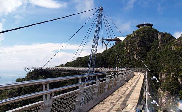 تصاویر | توریستیترین پل مالزی
