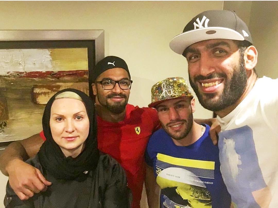 عکس | حامد حدادی، احسان روزبهانی، پیمان و لیلا رجبی در کنار هم
