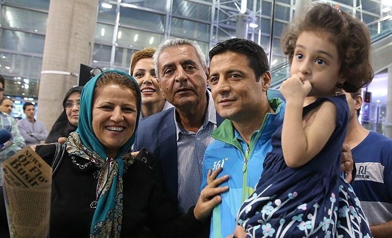 تصاویر | علیرضا فغانی و دخترش