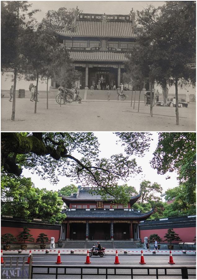 تصاویر | مقایسه وضعیت جدید و قدیم یک شهر چین