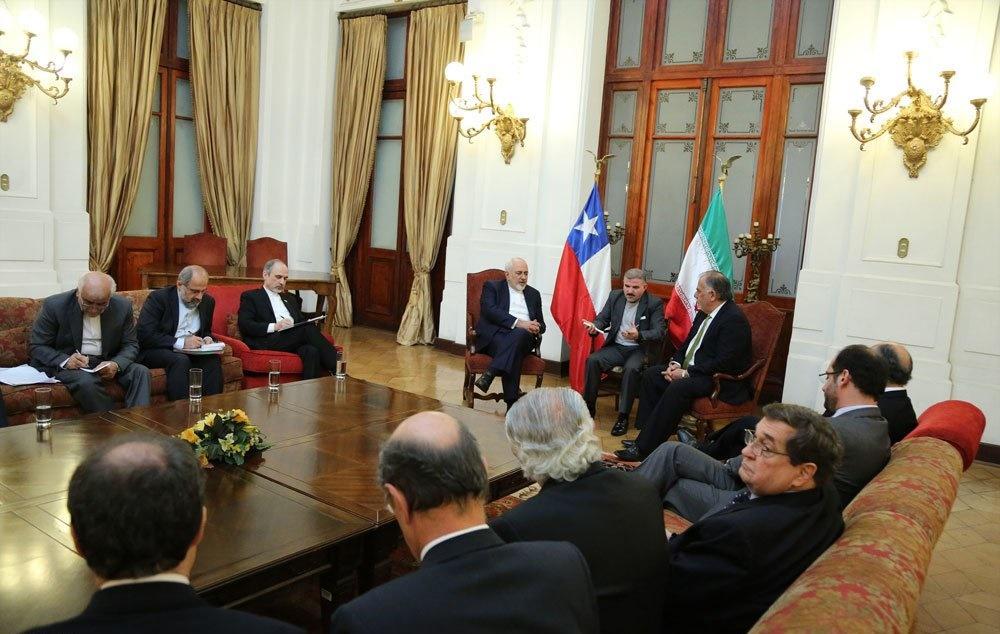 تصاویر   دیدارهای ظریف در شیلی