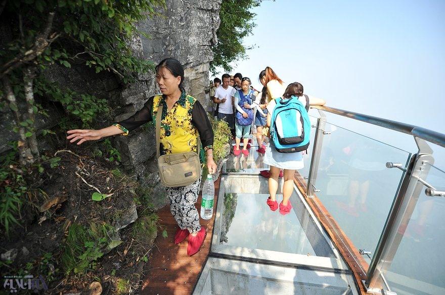 تصاویر   ترسناکترین پل جهان؛ مقصد جدید گردشگران شجاع