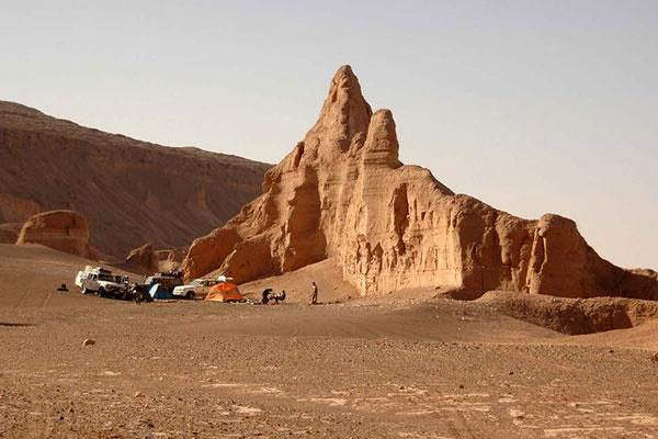 فیلم   اینجا لوت؛ ۵ هزار سال تاریخ، گرمترین نقطه زمین ثبت جهانی شده است