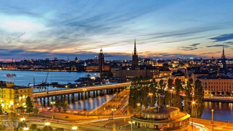 تصاویر | زیباییهای استکهلم را ببینید