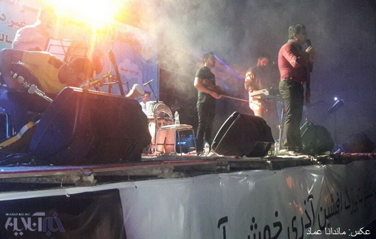 تصاویر | کنسرت بزرگ افشین آذری در شهر سهند