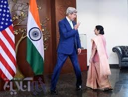 تصاویر | ژستهای جالب جان کری در دیدار با همتای هندی