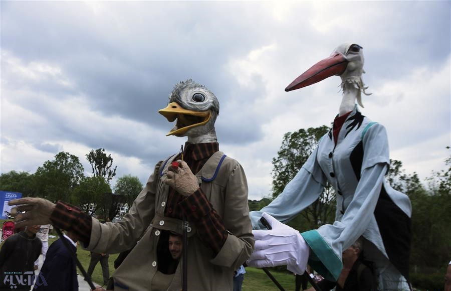 تصاویر | جشنواره ماسک در چین