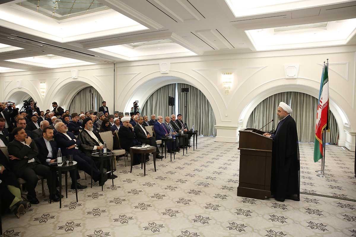 تصاویر   دیدار روحانی با اندیشمندان اسلامی جمهوری آذربایجان