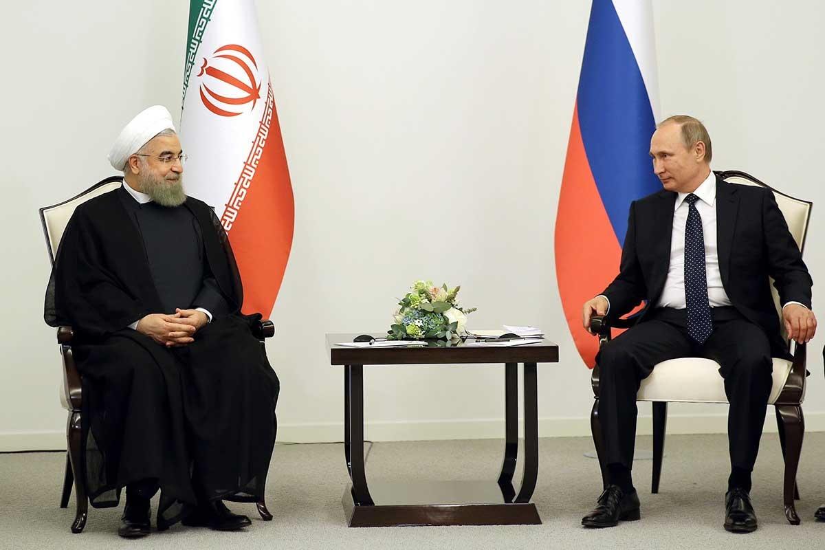 روحانی خطاب به پوتین: در تجارت دو جانبه باید به سمت کاهش تعرفهها و تجارت آزاد حرکت نماییم