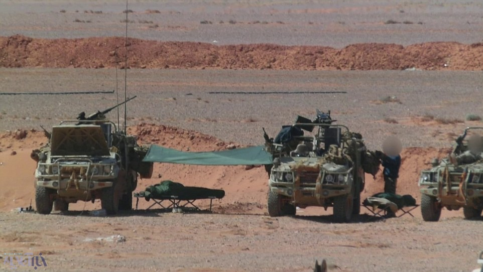 افشای حضور نظامی انگلیس در خاک سوریه