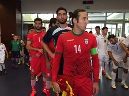 تیم ملی حریفش را در یک بازی تمرینی 4 تایی کرد