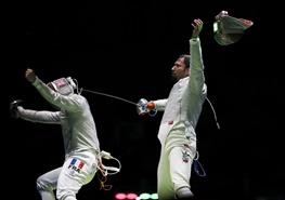 لحظهای تاریخی برای ورزش ایران که رویترز به تصویر کشید