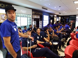 آبیپوشان تیم ملی فوتبال مسابقه کیانوش را نصفه دیدند و به ایتالیا پریدند!