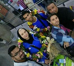 رجبی و ارزنده بدون استقبال مسئولان به ایران برگشتند