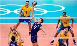 برزیل طلای والیبال المپیک را هم گرفت