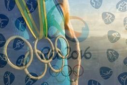 تصویری از عجیب ترین چهره المپیک تا پیش از برگزاری افتتاحیه