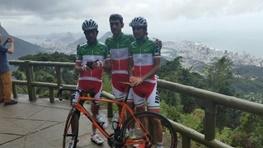 تصاویری از تمرین ملی پوشان دوچرخه سواری در خیابان های ریو