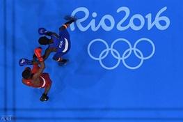 تصویری از تغییر آناتومی صورت ورزشکار در یک ثانیه در ریو!