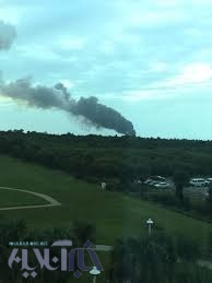 عکس | انفجار ماهوارهبر «فالکون 9» در فلوریدا