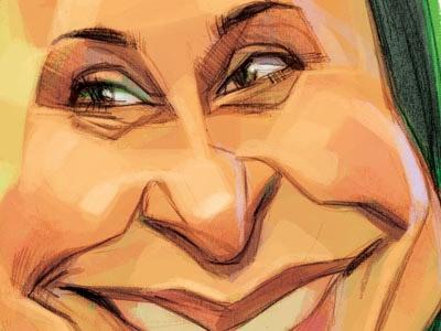 کاریکاتور | ساره پنجه طلا!