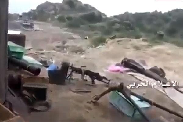 فیلم   غنایمی که مزدوران سعوی به جا گذاشتند