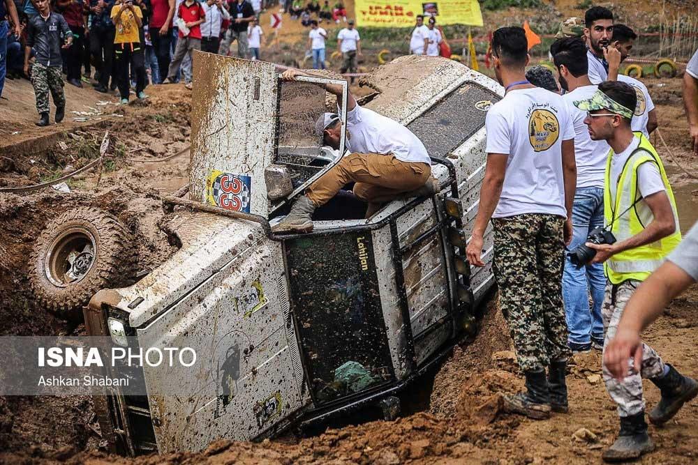 تصاویر | اوج هیجان در مسابقه بزرگ آفرود کومله
