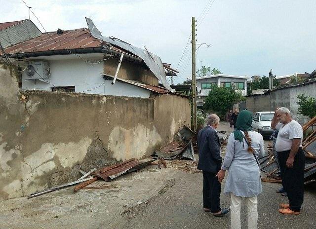 Image result for تصاویر طوفان مازندران