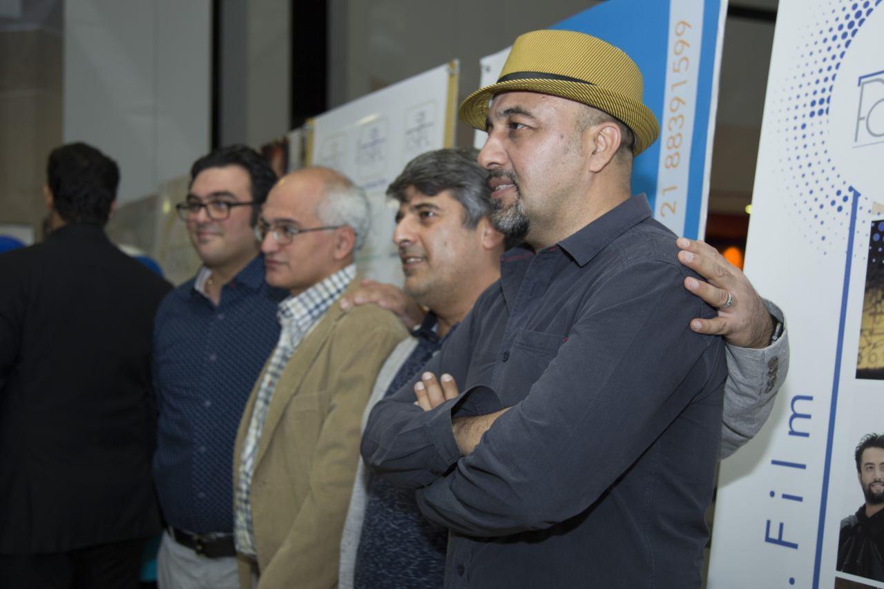 رضا عطاران، نیکی کریمی و فرزاد فرزین در مراسم افتتاح نمایش یک فیلم /عکس