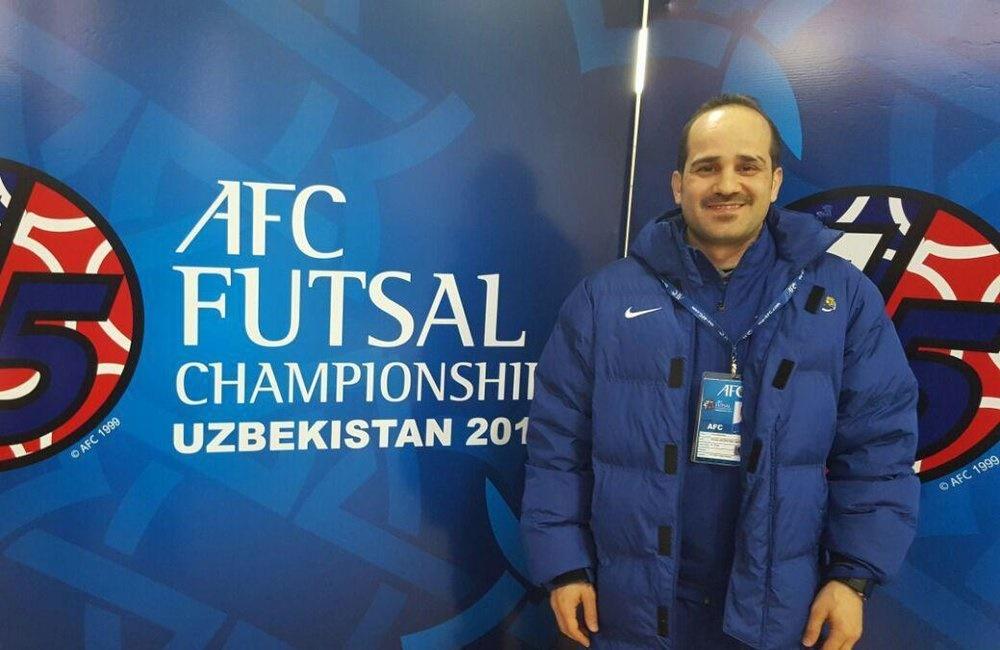قضاوت بازی حساس جام جهانی فوتسال به یک ایرانی رسید