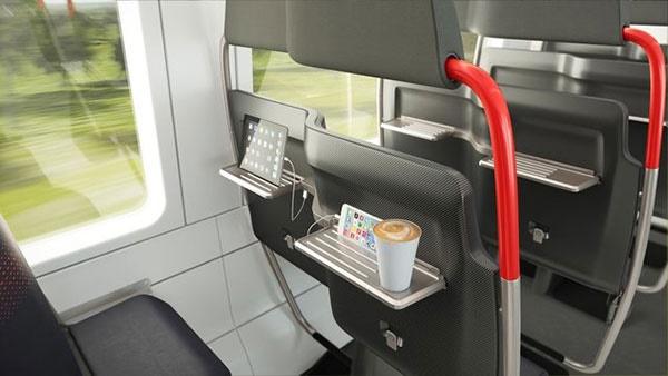 طراحی صندلیهای جدید برای افزایش ظرفیت اتوبوسها و مترو/همراه با شارژ یواسبی